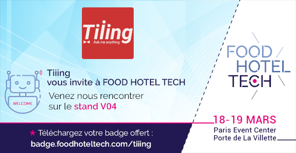 Tiiing au Food Hotel Tech #Saison 3